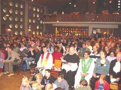 Gemeinde in der Johanneskirche
