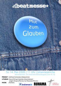 """Flyer """"Mut zum Glauben"""""""