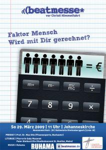 """Flyer """"Faktor Mensch ‒ Wird mit Dir gerechnet?"""""""