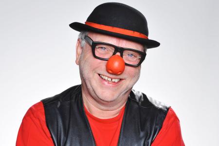 """Foto von Willibert Pauels als Büttenredner """"Ne Bergische Jung"""""""