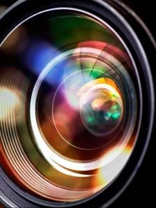 Videokamera-Objektiv
