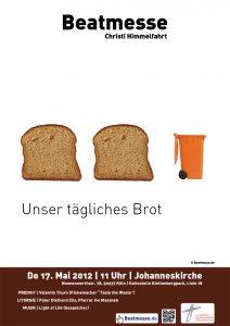 """Flyer """"Unser tägliches Brot"""""""