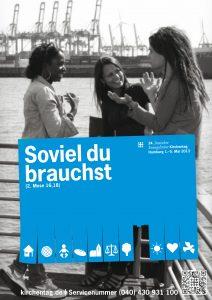 Plakat 34. Deutscher Evangelischer Kirchentag