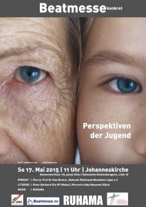"""Flyer """"Perspektiven der Jugend"""""""