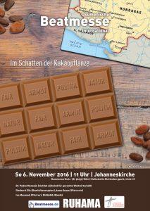 """Flyer """"Im Schatten der Kakaopflanze"""""""