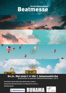 """Flyer zur Beatmesse """"Die Himmel auf Erden!"""