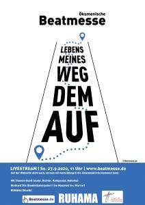 """Flyer """"Auf dem Weg meines Lebens"""""""